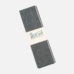 The Hill-Side Selvedge Chambray Large Scarf Black photo- 2