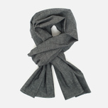 The Hill-Side Selvedge Chambray Large Scarf Black photo- 0