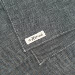 The Hill-Side Selvedge Chambray Large Scarf Black photo- 1