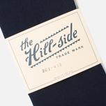 Шарф The Hill-Side Selvedge Panama Cloth Indigo фото- 2