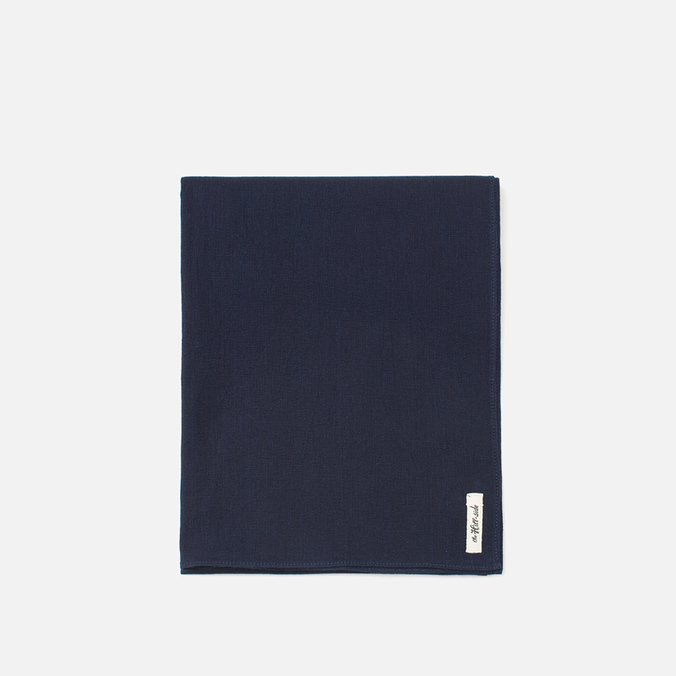 Шарф The Hill-Side Selvedge Panama Cloth Indigo