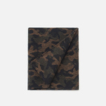 Шарф The Hill-Side Wool Jacquard Camo Olive фото- 1