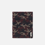 Шарф The Hill-Side Wool Jacquard Camo Red фото- 0