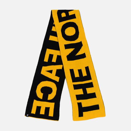 Шарф The North Face Logo TNF Yellow/TNF Black