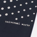 Шарф Universal Works Short Dot Rayon Navy фото- 2