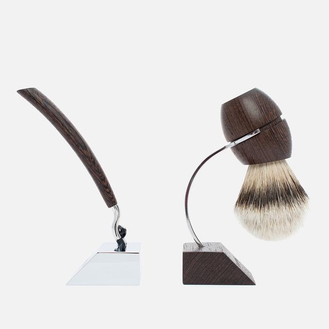 Набор для бритья Acca Kappa 1869 Wenge Wood Pennello E Rasoio