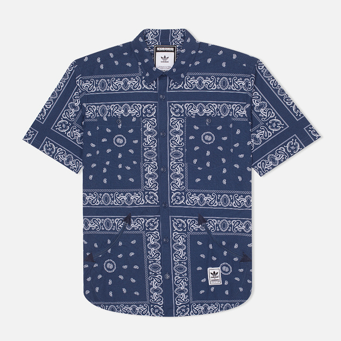 adidas Originals Bandanna Sh Shirt Blue