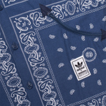 adidas Originals Bandanna Sh Shirt Blue photo- 2