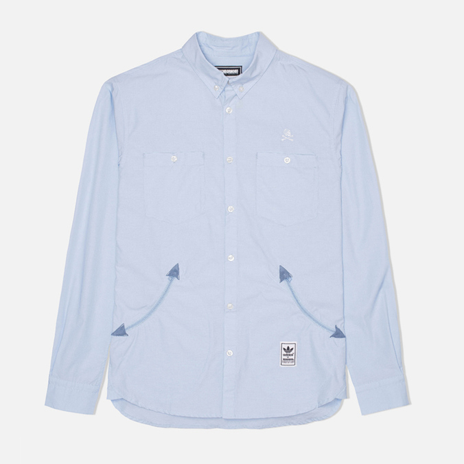 Мужская рубашка adidas Originals x Neighborhood Ox Shirt Blue