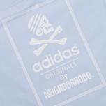 Мужская рубашка adidas Originals x Neighborhood Ox Shirt Blue фото- 5
