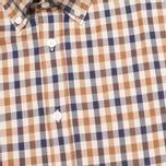 Мужская рубашка Aquascutum Devonshire Club Check Vicuna фото- 2