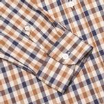 Мужская рубашка Aquascutum Devonshire Club Check Vicuna фото- 3