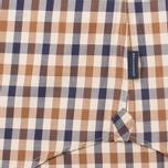 Мужская рубашка Aquascutum Devonshire Club Check Vicuna фото- 4
