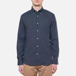 Мужская рубашка Barbour Beswick Navy фото- 4