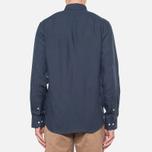 Мужская рубашка Barbour Beswick Navy фото- 3
