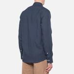Мужская рубашка Barbour Beswick Navy фото- 2