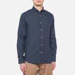 Мужская рубашка Barbour Beswick Navy фото- 0