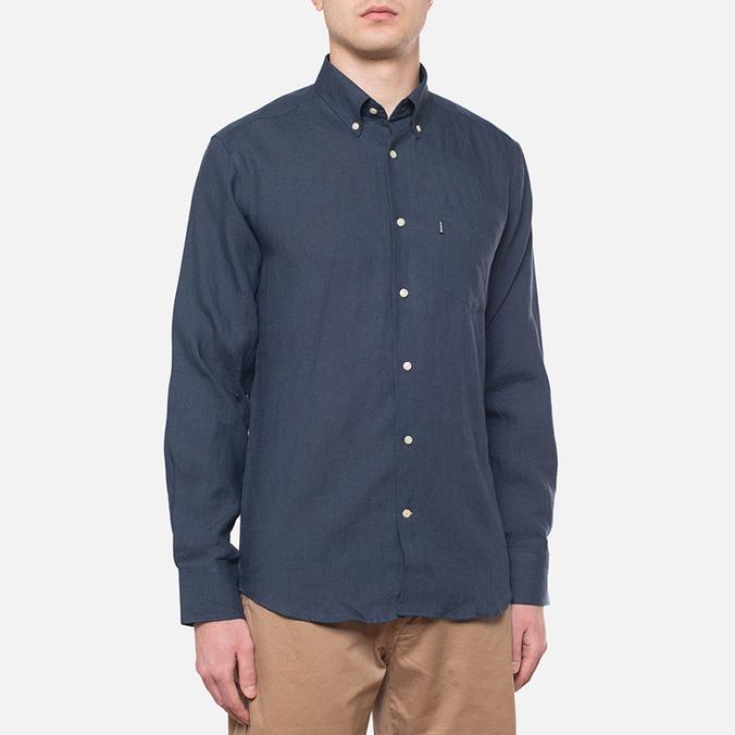 Мужская рубашка Barbour Beswick Navy