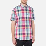Мужская рубашка Barbour Candlewood Short Sleeve Crimson фото- 0