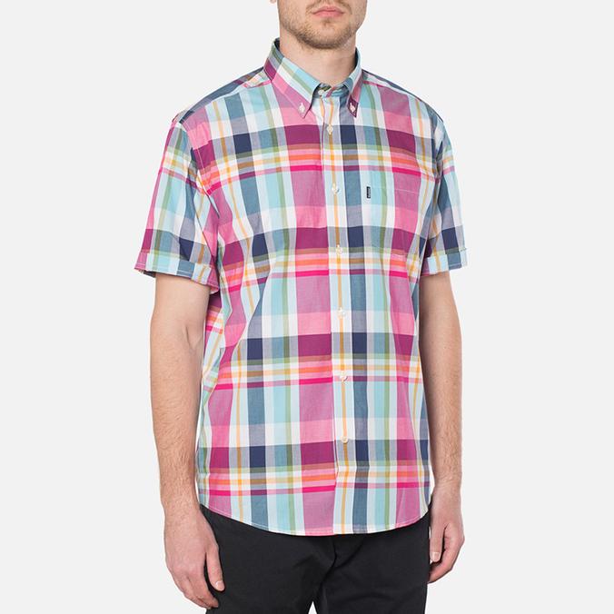 Мужская рубашка Barbour Candlewood Short Sleeve Crimson