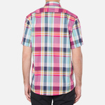Мужская рубашка Barbour Candlewood Short Sleeve Crimson фото- 3