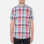Мужская рубашка Barbour Candlewood Short Sleeve Crimson фото- 4