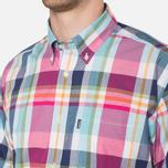 Мужская рубашка Barbour Candlewood Short Sleeve Crimson фото- 5