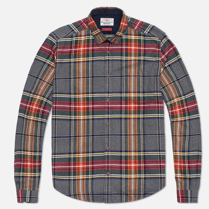 Мужская рубашка Barbour Castleford Grey Marl
