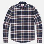 Мужская рубашка Barbour Castleford Navy фото- 0