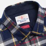 Мужская рубашка Barbour Castleford Navy фото- 1