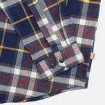 Мужская рубашка Barbour Castleford Navy фото- 3