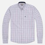 Мужская рубашка Barbour Charles Crimson фото- 0