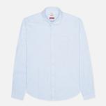 Мужская рубашка Barbour Charles Oxford Blue фото- 0