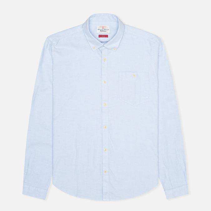 Мужская рубашка Barbour Charles Oxford Blue