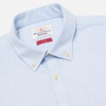 Мужская рубашка Barbour Charles Oxford Blue фото- 1
