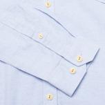 Мужская рубашка Barbour Charles Oxford Blue фото- 4