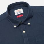Мужская рубашка Barbour Charles Oxford Navy фото- 1