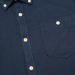 Мужская рубашка Barbour Charles Oxford Navy фото- 2