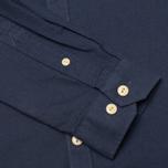 Мужская рубашка Barbour Charles Oxford Navy фото- 3