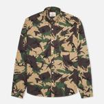 Мужская рубашка Barbour Cowen Camo Green фото- 0