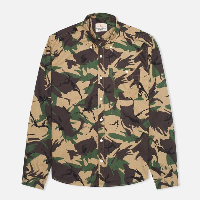 Мужская рубашка Barbour Cowen Camo Green