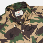 Мужская рубашка Barbour Cowen Camo Green фото- 1