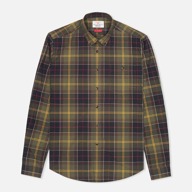 Мужская рубашка Barbour Duncan Classic Tartan Olive/Green