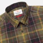 Мужская рубашка Barbour Duncan Classic Tartan Olive/Green фото- 1