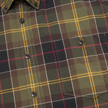 Мужская рубашка Barbour Duncan Classic Tartan Olive/Green фото- 2