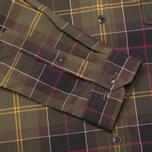 Мужская рубашка Barbour Duncan Classic Tartan Olive/Green фото- 3