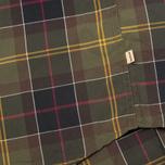 Мужская рубашка Barbour Duncan Classic Tartan Olive/Green фото- 4