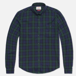 Barbour Farn Shirt Navy photo- 0