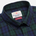 Barbour Farn Shirt Navy photo- 1