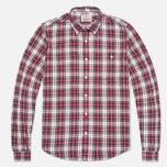 Мужская рубашка Barbour Farn Off White фото- 0